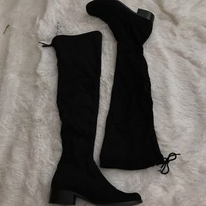 Charles David Over the Knee Suede Boots